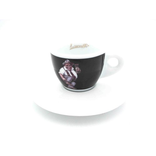 Lucaffe Espressotasse schwarz Mr. Exclusive