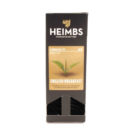 Heimbs Tee - ENGLISH BREAKFAST - 20 Tea Bags
